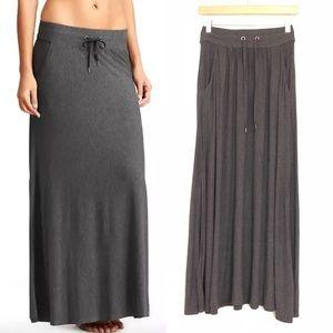 Athleta Pura Vida Maxi Skirt Side Slits Jersey